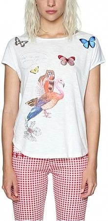 Desigual Ladies T-Shirt Ts So What 18swtkho 1000 (Rozmiar Xs)