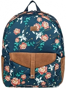 Roxy Carribean Dress Backpack Blue Garden Lily erjbp03839-btk9