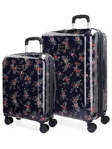 2-częściowy zestaw walizek w kolorze granatowym