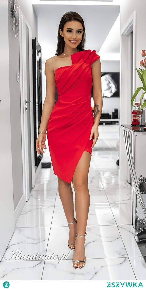Czerwona sukienka na wesele z kolekcji illuminate.pl <3