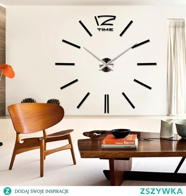 Duży dekoracyjny zegar ścienny. Kupisz w sklepie Ekotechnik24.pl