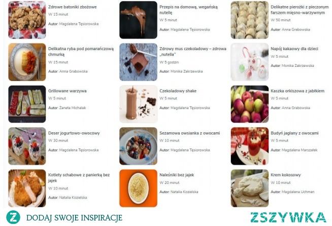 15 smacznych przepisów bez jajek. Link poniżej.