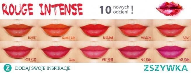 Pigmenty do makijażu permanentnego na usta.