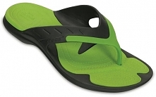 Crocs Japonki Męskie Modi Sport Flip Graphite/Volt Green m9/w11 (42,5)