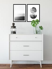 Dwa plakaty - Czarno-białe
