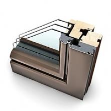 Okna drewniano aluminiowe są popularnym rodzajem okien.