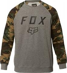 FOX Bluza Męska Legacy Crew Fleece Xl Szary
