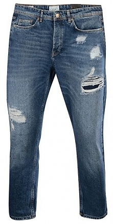 "Only&Sons Niebieskie Dżinsy Beam Exp Med ""34 Rednio Blue Denim jeans24 Lng (R..."