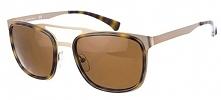 Calvin Klein Męskie Okulary Przeciwsłoneczne Brązowy