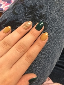 Green, gold, yellow
