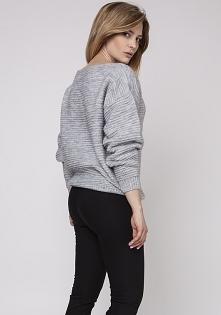 Sweter z fakturą, SWE160 sz...