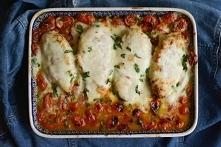 Kurczak z mozzarellą, czosn...