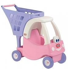 Little Tikes Cozy Pojazd Z Koszykiem - Różowy