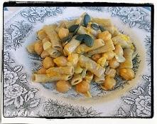 Makaron żytni z ciecierzycą i dynią - Rye Pasta With Chickpeas And Pumpkin - ...
