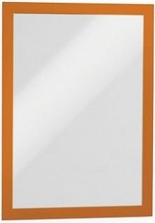 Durable Samoprzylepna ramka informacyjna A4 pomarańczowa 2szt. (4872-09)