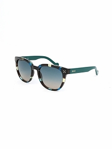 Damskie okulary przeciwsłoneczne w kolorze niebiesko-czarno-morskim
