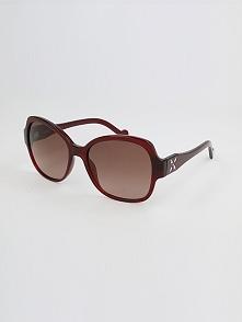 Damskie okulary przeciwsłoneczne w kolorze brązowym