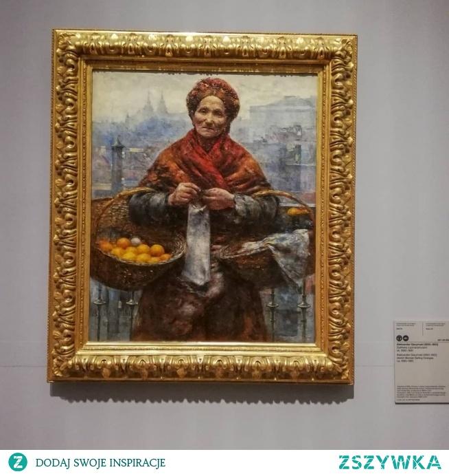 Żydówka z pomarańczami, Gierymski. Muzeum Narodowe w Warszawie.  @nieidentyczna
