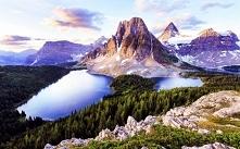 Kolumbia Brytyjska, krajobraz :) Puzzle po kliknięciu :)