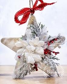 Pozostając w zimowym nastroju przedstawiamy zimową gwiazdkę ⭐ #star #handmade...