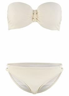 Bikini na fiszbinach (2 części) bonprix kremowy