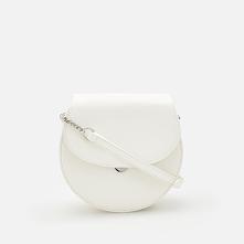 Torebka typu saddle bag - Kremowy