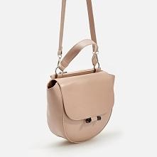 Torebka typu saddle bag - Beżowy