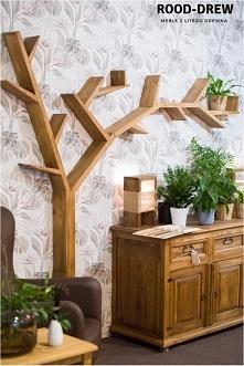 Półka w kształcie drzewka