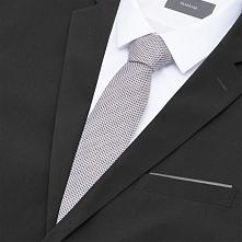 Krawat i poszetka - Beżowy