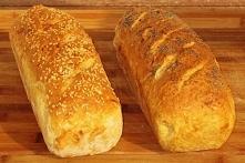 Chleb upieczony z surowymi ...