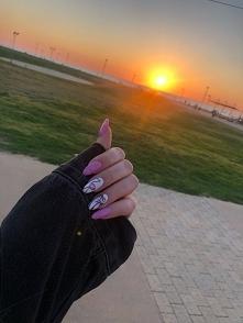 summer nails #palm #holidays #sun