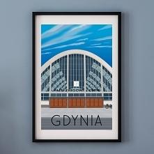Plakat GDYNIA - HALE TARGOWE