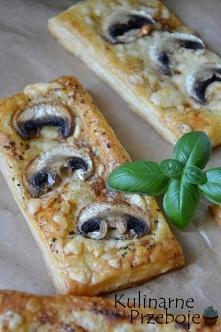 Przepisy na przekąski z ciasta francuskiego:)