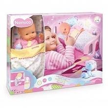 Nenuco Kołyska + Lalka Śpij Ze Mną 35 cm