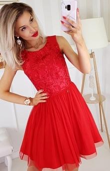 Bicotone sukienka z koronką...