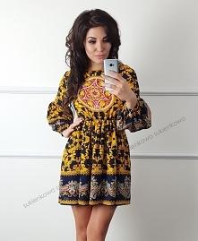 Kliknij w zdjęcie by przejść do produktu sukienkowo.com  ROMA - Klasyczna suk...