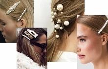 TREND NA WIOSNĘ spinki z perełkami DIY - prosta instrukcja, niewielki koszt, super efekt :)