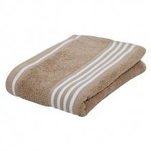 Ręcznik Gözze Rio pozytyw, 30 x 50cm, piaskowy/biały, nr 140-73-3