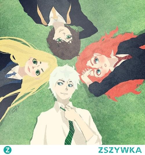Wielka Czwórka jako uczniowie Hogwartu