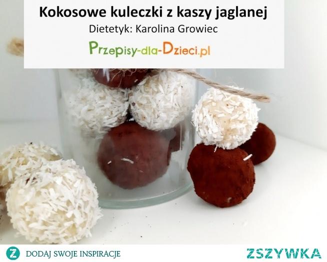 Kokosowe kuleczki z kaszy jaglanej- link poniżej.