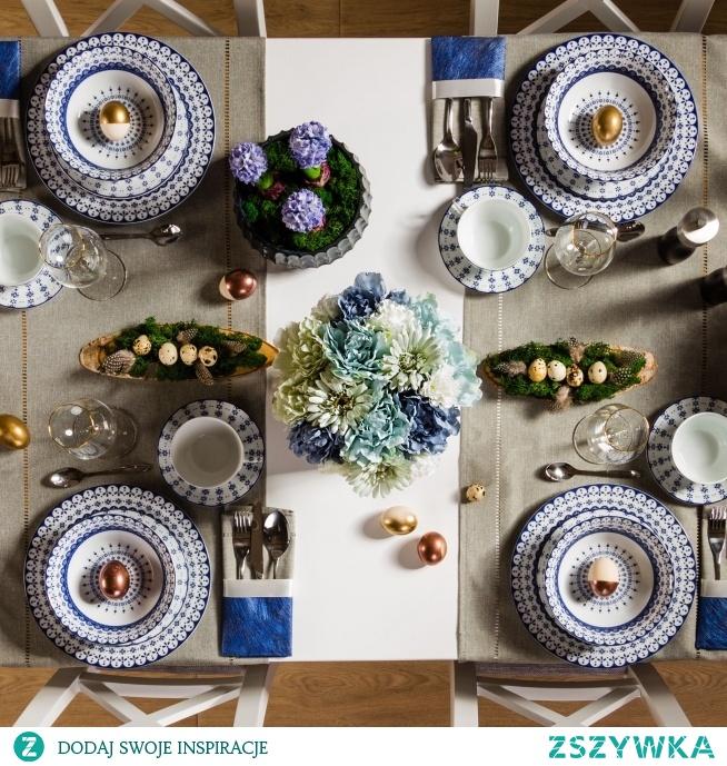 Piękny flower box ze sztucznych kwiatów, który może być idealną dekoracją wielkanocnych stołów  Zdjęcie oraz aranżacja- Paweł Szulc, Magdalena Kucińska