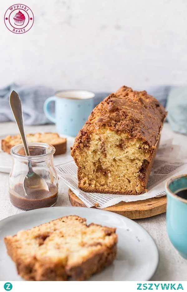 Proste ciasto cynamonowe - Wypieki Beaty