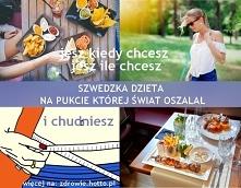 Szwedzka dieta, jak szybko schudnąć bez liczenia kalorii. Dieta ułożona przez...