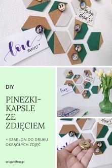 DIY Pinezki-kapsle ze zdjęc...