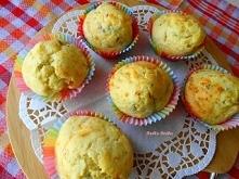 Serowe Muffiny Śniadaniowe. Ciekawa opcja na śniadanko lub jako przekąska.Świ...