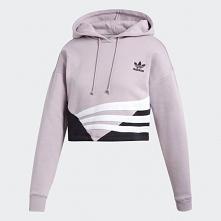 crop top hoodie adidas SOFT VISION / BLACK
