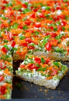 Crescent Roll Veggie Bars