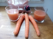 soki marchewkowe, kupilam z...