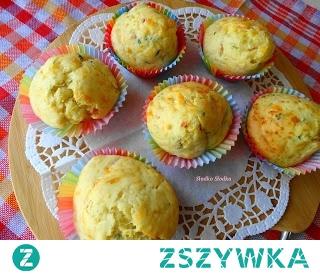 Serowe Muffiny Śniadaniowe. Ciekawa opcja na śniadanko lub jako przekąska.Świetne również jako drugie śniadanie dla dzieci do szkoły.