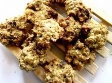 Ciastka z płatków owsianych z żurawiną